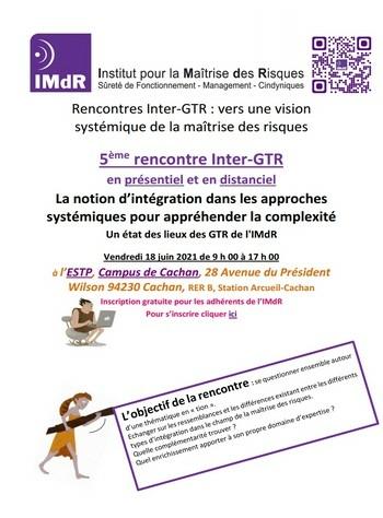 Les Rencontres Inter-GTR 2021 : La notion d'intégration dans les approches systémiques pour appréhender la complexité