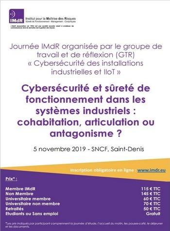 Cybersécurité et sûreté de fonctionnement dans les systèmes industriels : cohabitation, articulation ou antagonisme ?