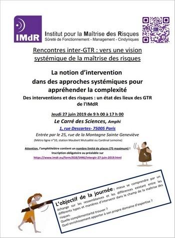 Les Rencontres InterGTR 2019