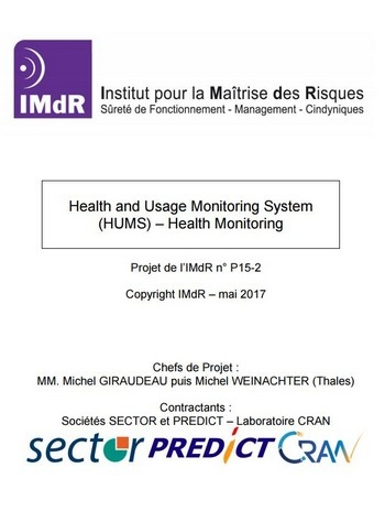 Health and Usage Monitoring System (HUMS) – Health Monitoring