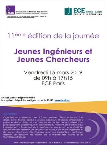 Journée IMdR : « Jeunes Ingénieurs et Jeunes Chercheurs » 2019