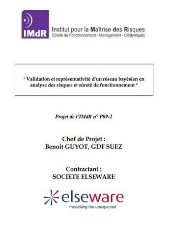 Validation et représentativité d'un réseau bayésien en analyse de risque et sûreté de fonctionnement