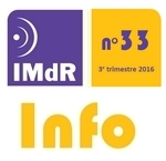 IMdR Info n°33 - 3è trimestre 2016