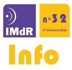IMdR Info n°32 - 2è trimestre 2016