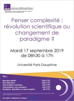 Penser complexité : révolution scientifique ou changement de paradigme ?