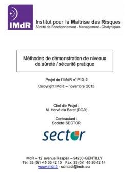 Méthodes de démonstration de niveaux de sûreté de sécurité pratique