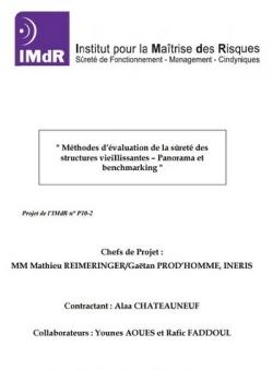 Méthodes d'évaluation de la sûreté des structures vieillissantes - Panorama et benchmarking