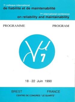 7e colloque international sur la Fiabilité et la Maintenabilité - Textes des conférences Lambda Mu 7