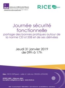 Journée sécurité fonctionnelle partage des bonnes pratiques autour de la norme CEI 61508 et de ses dérivées
